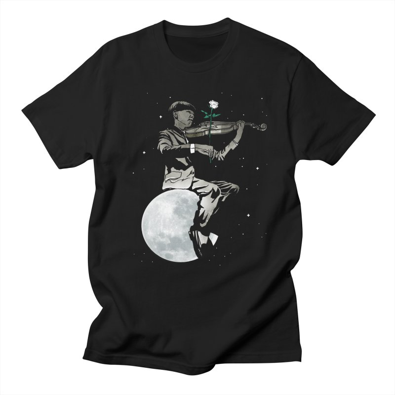lunar music Men's T-Shirt by Rodisley's Artist Shop