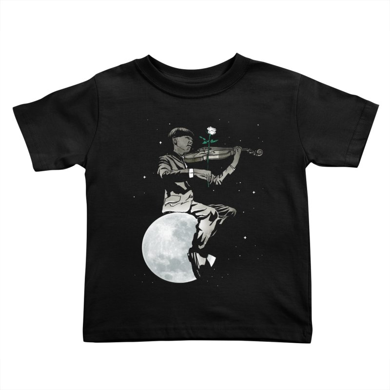 lunar music Kids Toddler T-Shirt by Rodisley's Artist Shop