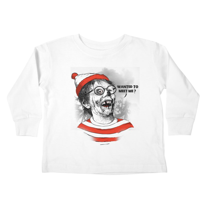 I was looking for me? Kids Toddler Longsleeve T-Shirt by Rodisley's Artist Shop