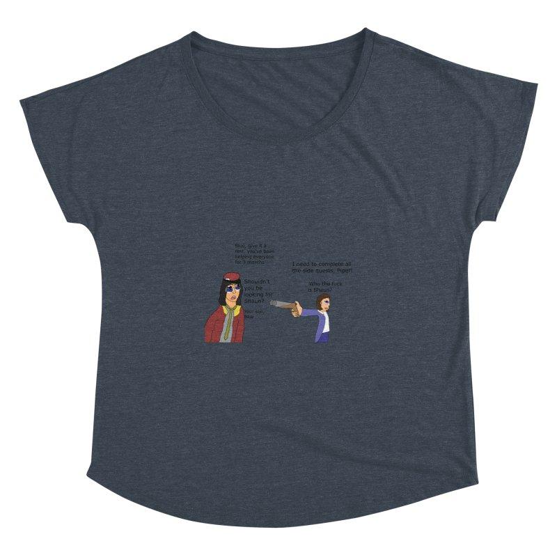 Side-Tracked (Fallout 4) Women's Dolman by Roe's Shop