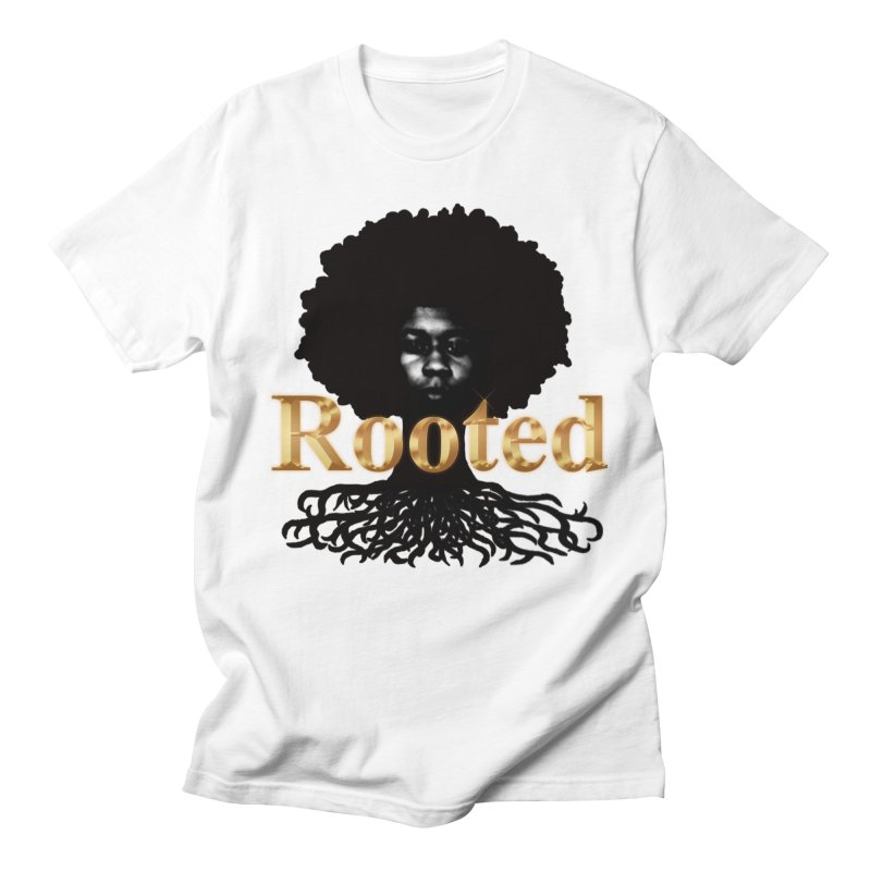 Stamped Men's T-Shirt by Rooted