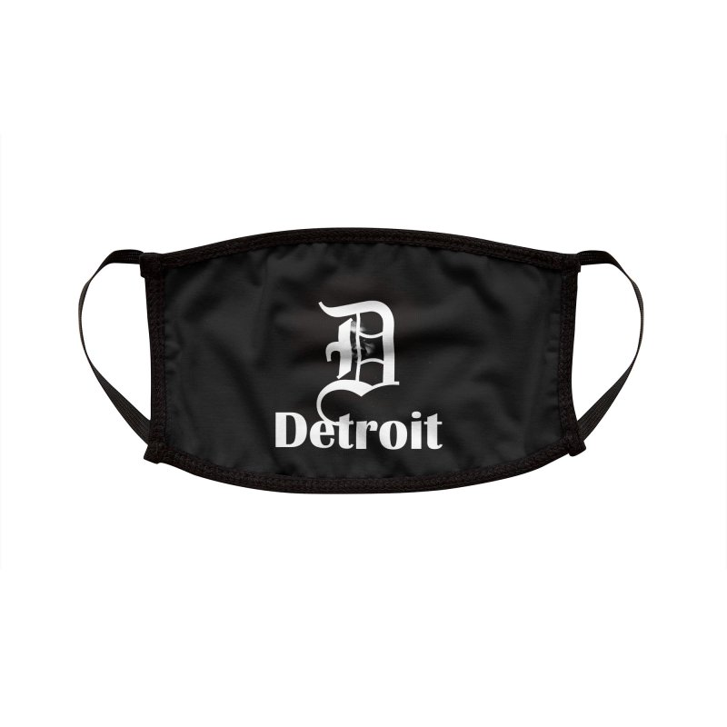 Rooted in Detroit Accessories Face Mask by Rooted