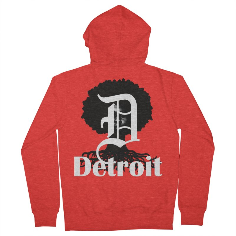 Rooted in Detroit Fellas Zip-Up Hoody by Rooted