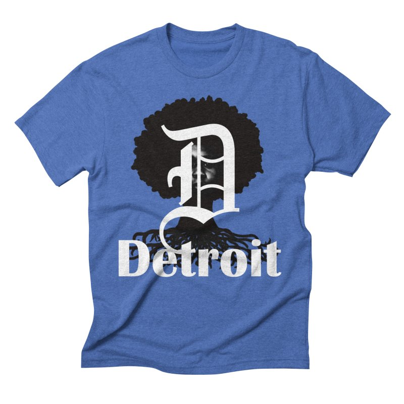 Rooted in Detroit Fellas T-Shirt by Rooted