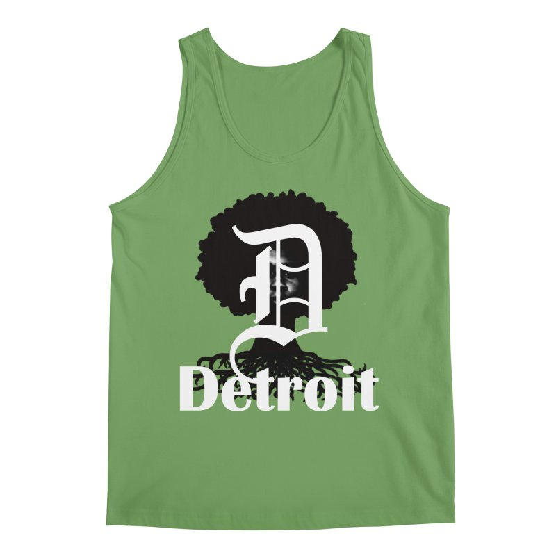 Rooted in Detroit Men's Tank by Rooted