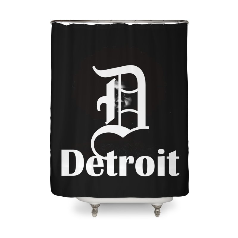 Rooted in Detroit Home Shower Curtain by Rooted
