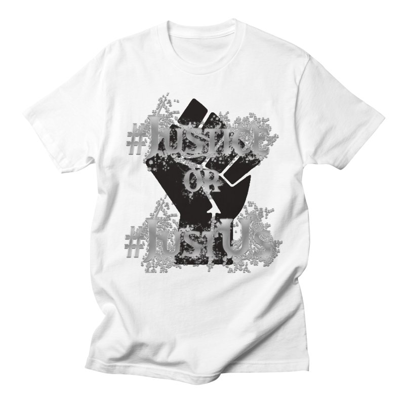 Justice Men's T-Shirt by Rooted