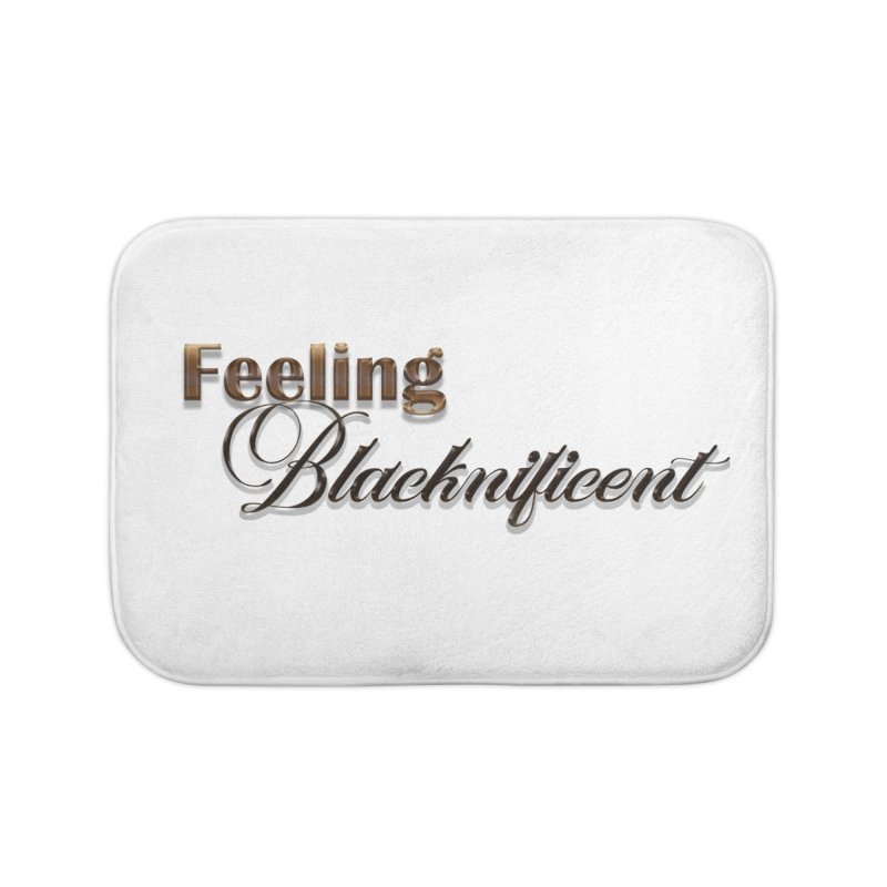 Blacknificent Home Bath Mat by Rooted