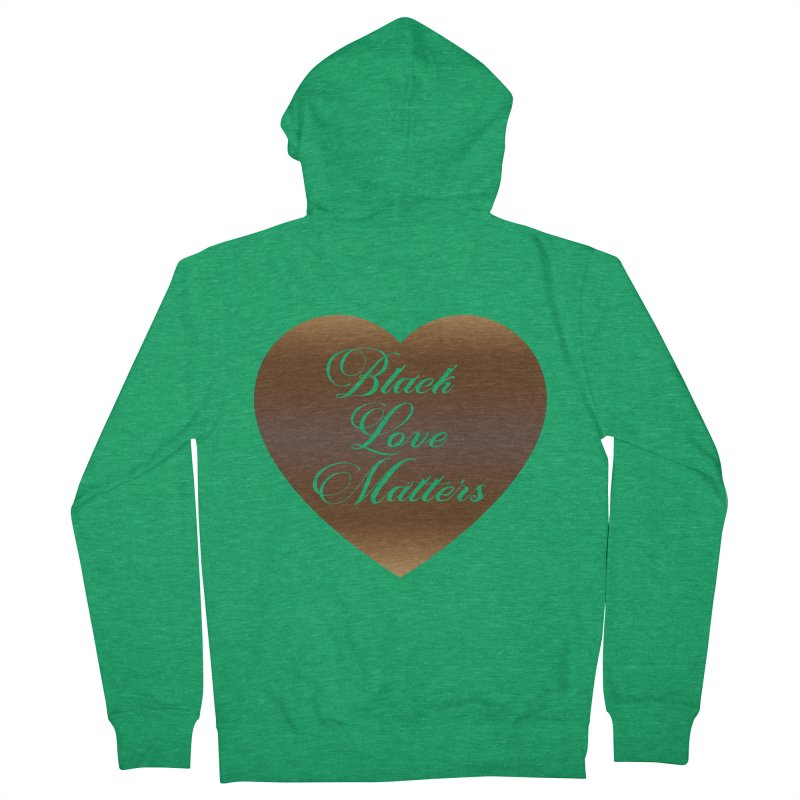 Melanin Love Ladies Zip-Up Hoody by Rooted