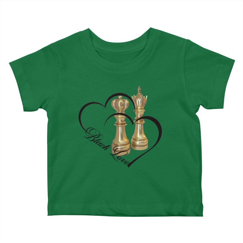 Golden Love Kids Baby T-Shirt by Rooted