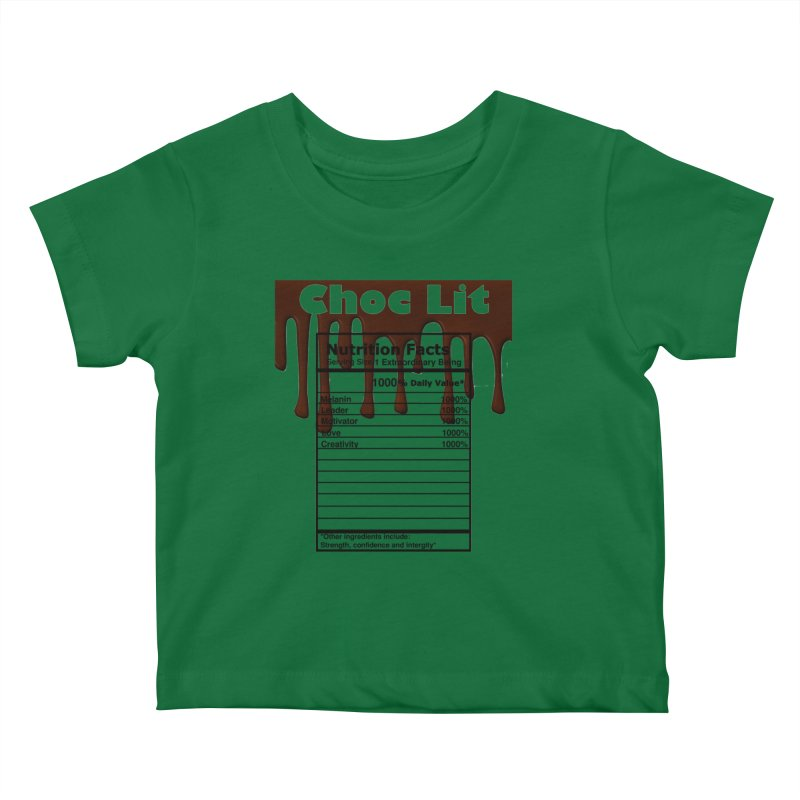 ChocLit Kids Baby T-Shirt by Rooted