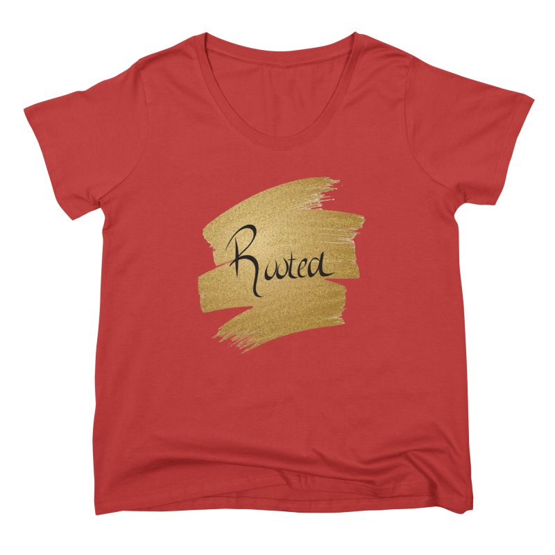 Golden Roots Ladies Scoop Neck by Rooted