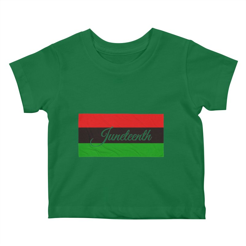 Juneteenth Kids Baby T-Shirt by Rooted