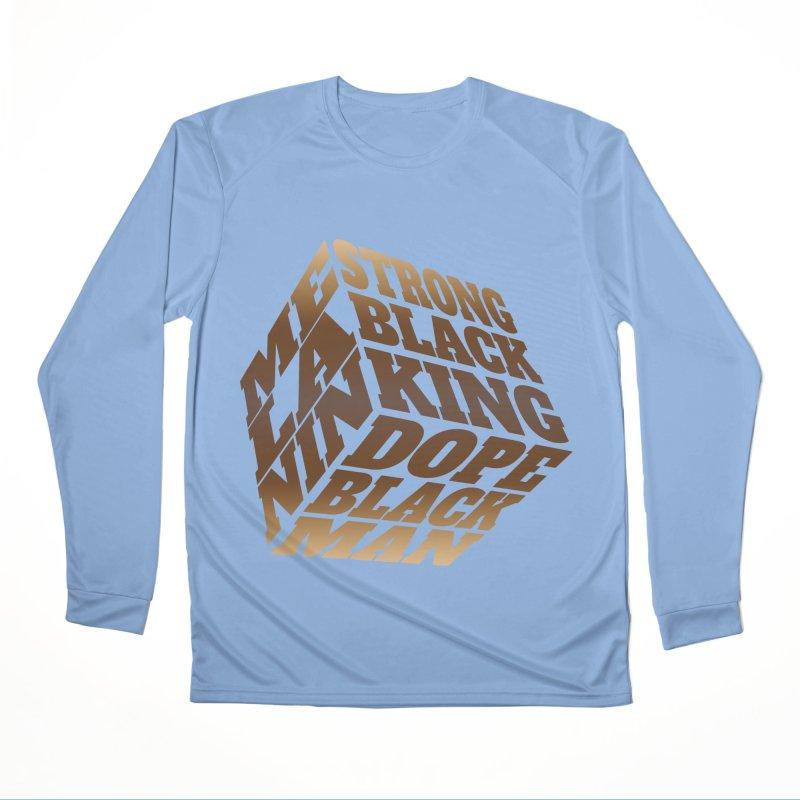 Melanin King Fellas Longsleeve T-Shirt by Rooted