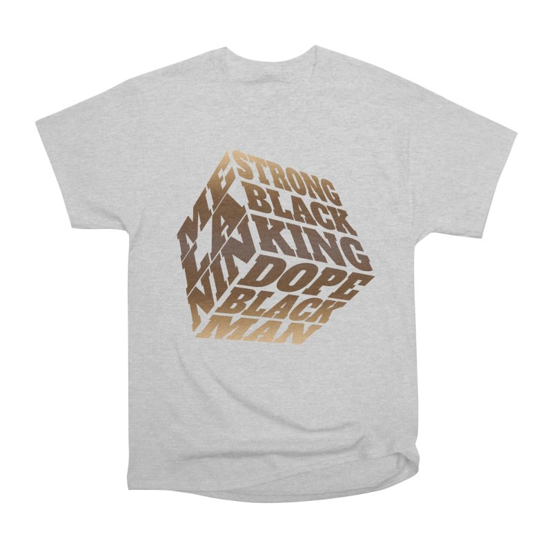 Melanin King Fellas T-Shirt by Rooted