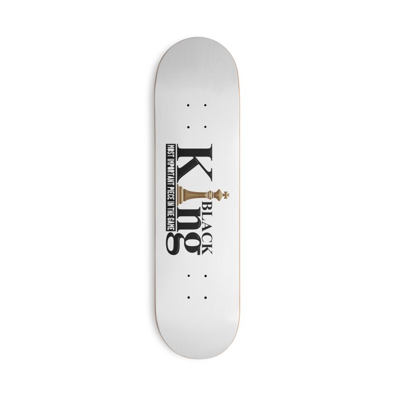 Black King Accessories Skateboard by Rooted
