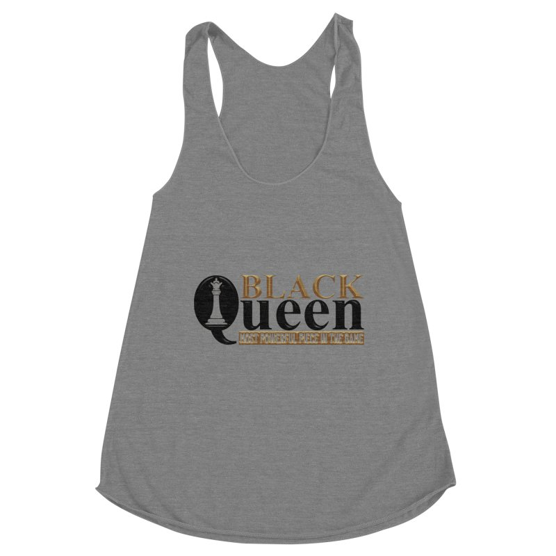 Black Queen Ladies Tank by Rooted