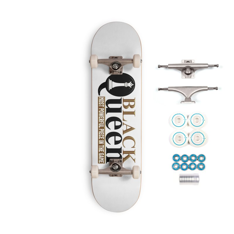 Black Queen Accessories Skateboard by Rooted