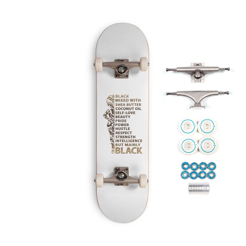 Melanin Woman Accessories Skateboard by Rooted