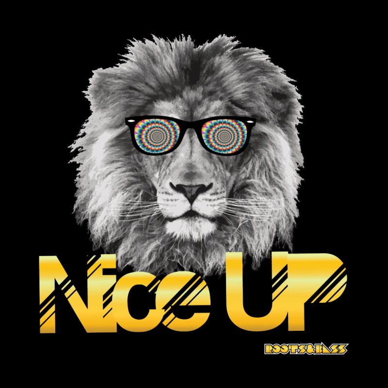 NICE UP TRIPPY LION by Roots & Bass Shop