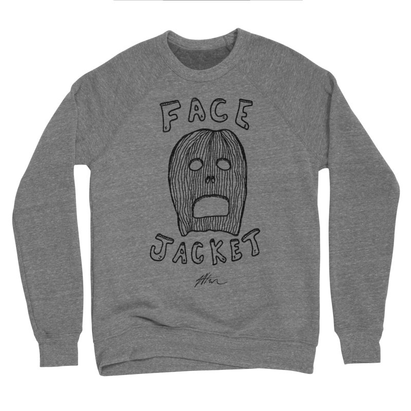 Face Jacket Men's Sponge Fleece Sweatshirt by Rorockll's Artist Shop
