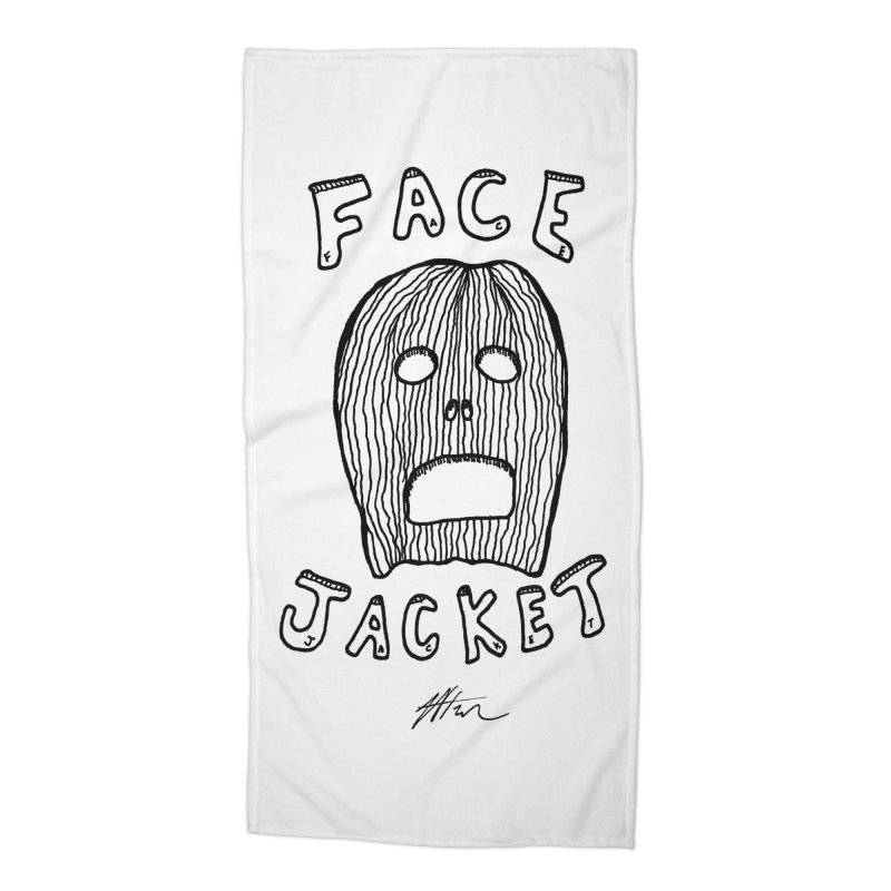 Face Jacket Accessories Beach Towel by Rorockll's Artist Shop