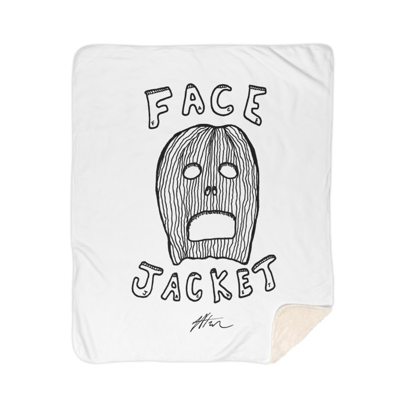 Face Jacket Home Blanket by Rorockll's Artist Shop