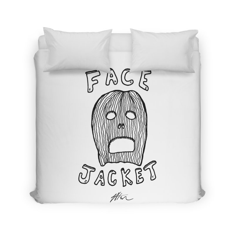 Face Jacket Home Duvet by Rorockll's Artist Shop
