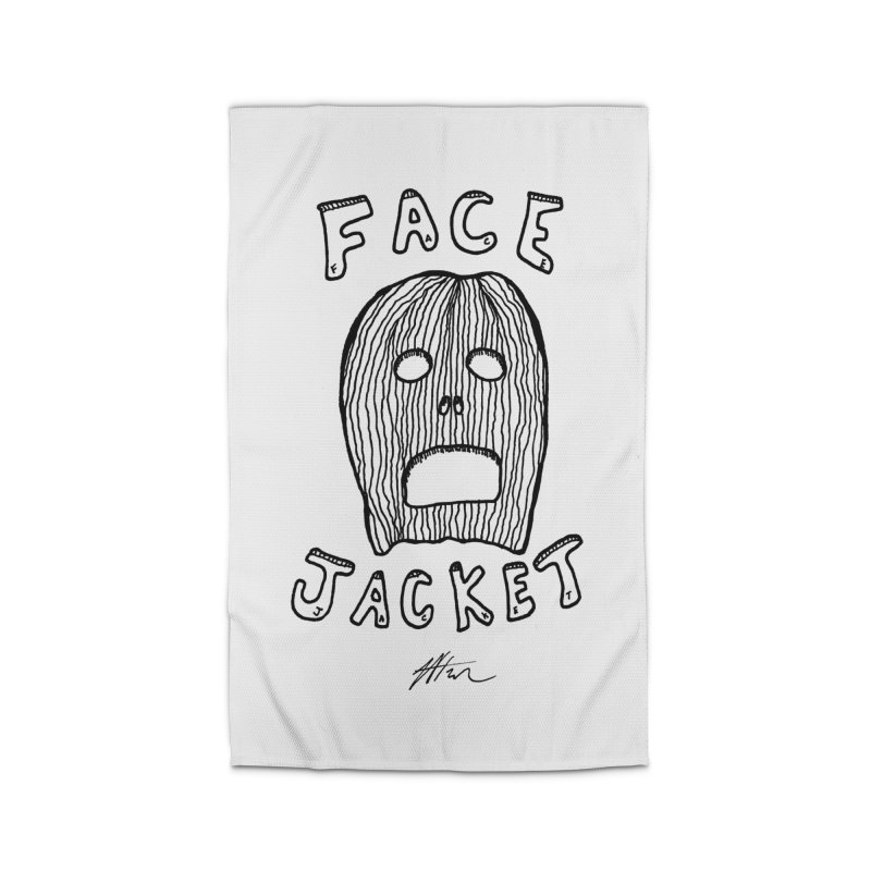 Face Jacket Home Rug by Rorockll's Artist Shop