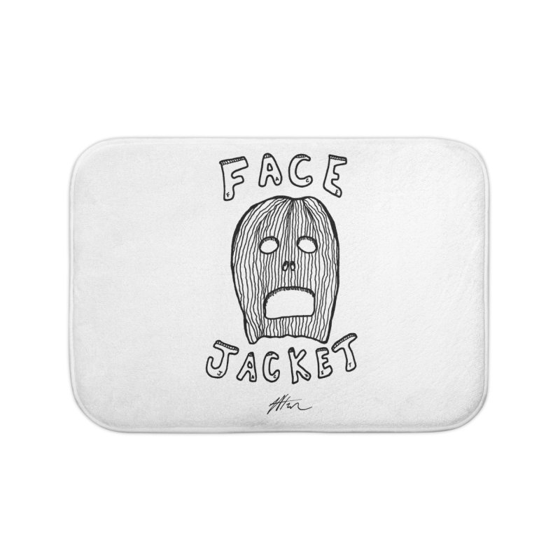 Face Jacket Home Bath Mat by Rorockll's Artist Shop