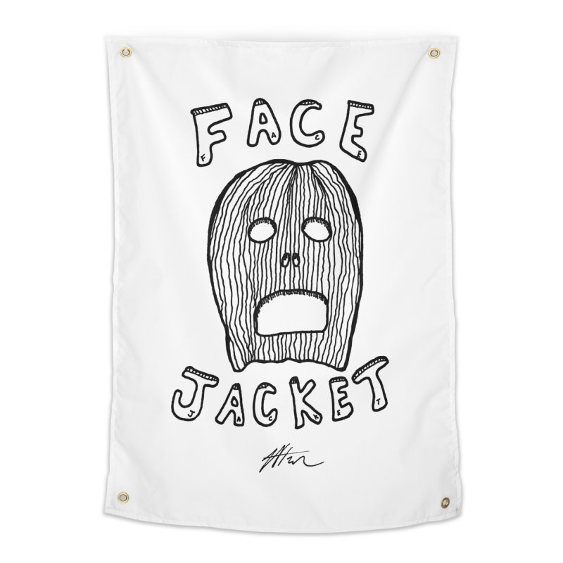 Face Jacket Home Tapestry by Rorockll's Artist Shop