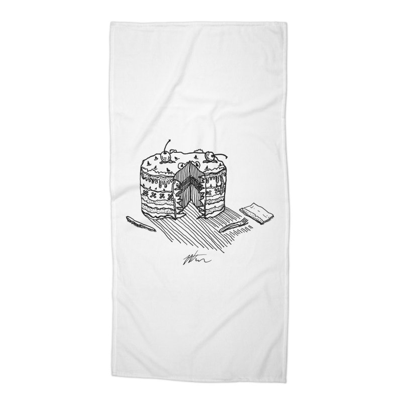 Bon Appéteeth Accessories Beach Towel by Rorockll's Artist Shop