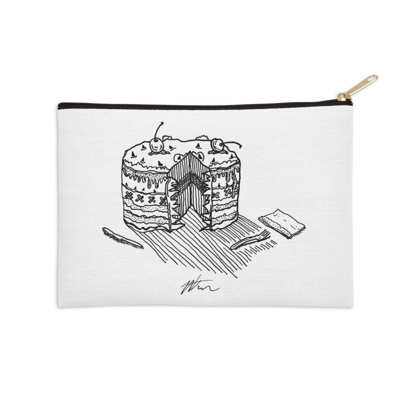 Bon Appéteeth Accessories Zip Pouch by Rorockll's Artist Shop