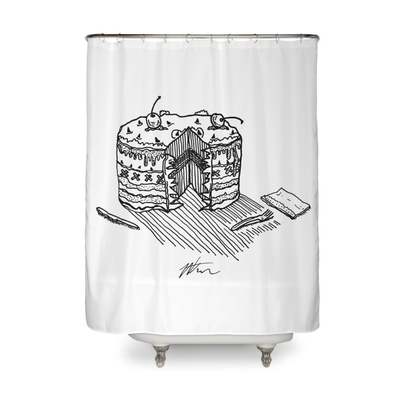 Bon Appéteeth Home Shower Curtain by Rorockll's Artist Shop