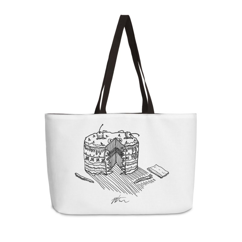 Bon Appéteeth Accessories Weekender Bag Bag by Rorockll's Artist Shop