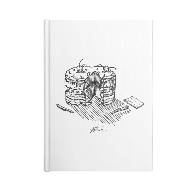 Bon Appéteeth Accessories Lined Journal Notebook by Rorockll's Artist Shop