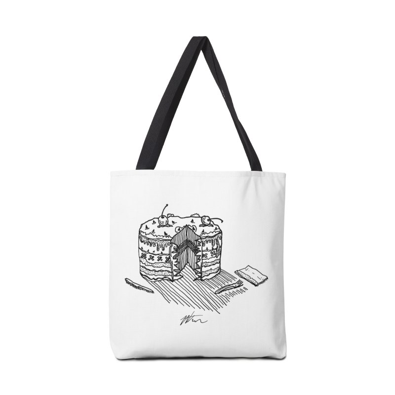 Bon Appéteeth Accessories Tote Bag Bag by Rorockll's Artist Shop