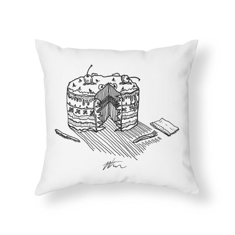 Bon Appéteeth Home Throw Pillow by Rorockll's Artist Shop