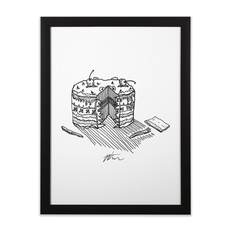 Bon Appéteeth Home Framed Fine Art Print by Rorockll's Artist Shop