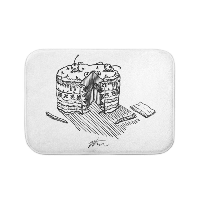 Bon Appéteeth Home Bath Mat by Rorockll's Artist Shop