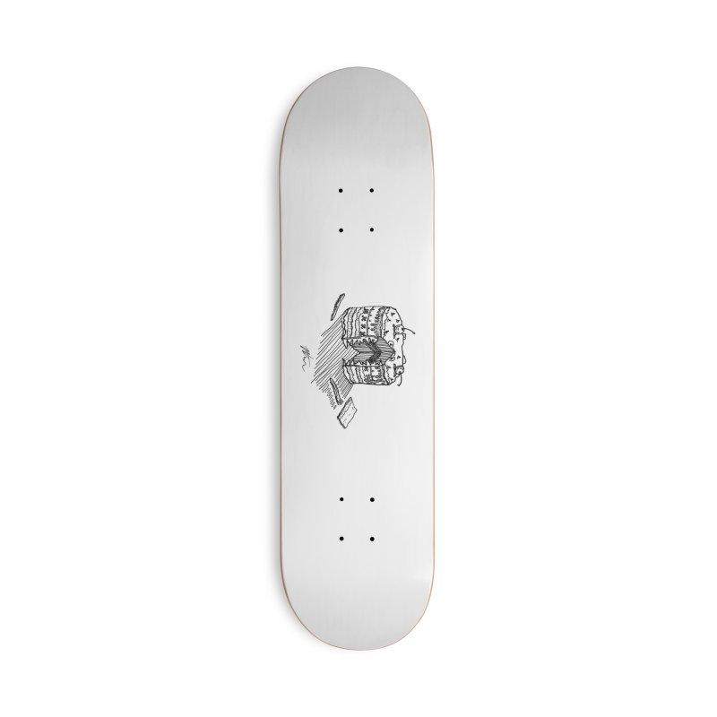 Bon Appéteeth Accessories Deck Only Skateboard by Rorockll's Artist Shop