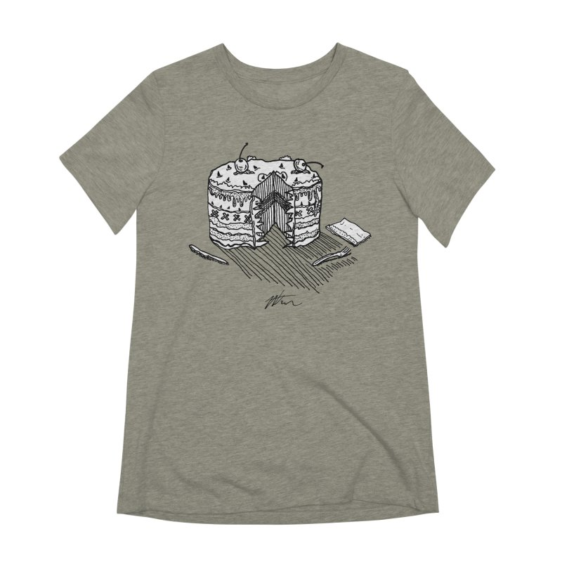 Bon Appéteeth Women's Extra Soft T-Shirt by Rorockll's Artist Shop