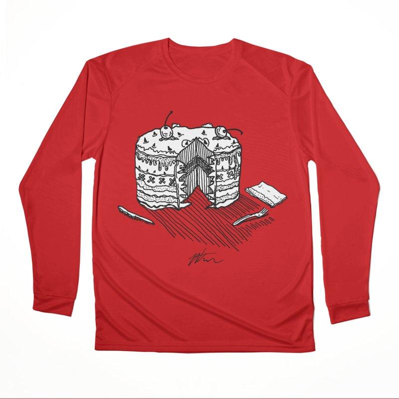 Bon Appéteeth Women's Performance Unisex Longsleeve T-Shirt by Rorockll's Artist Shop