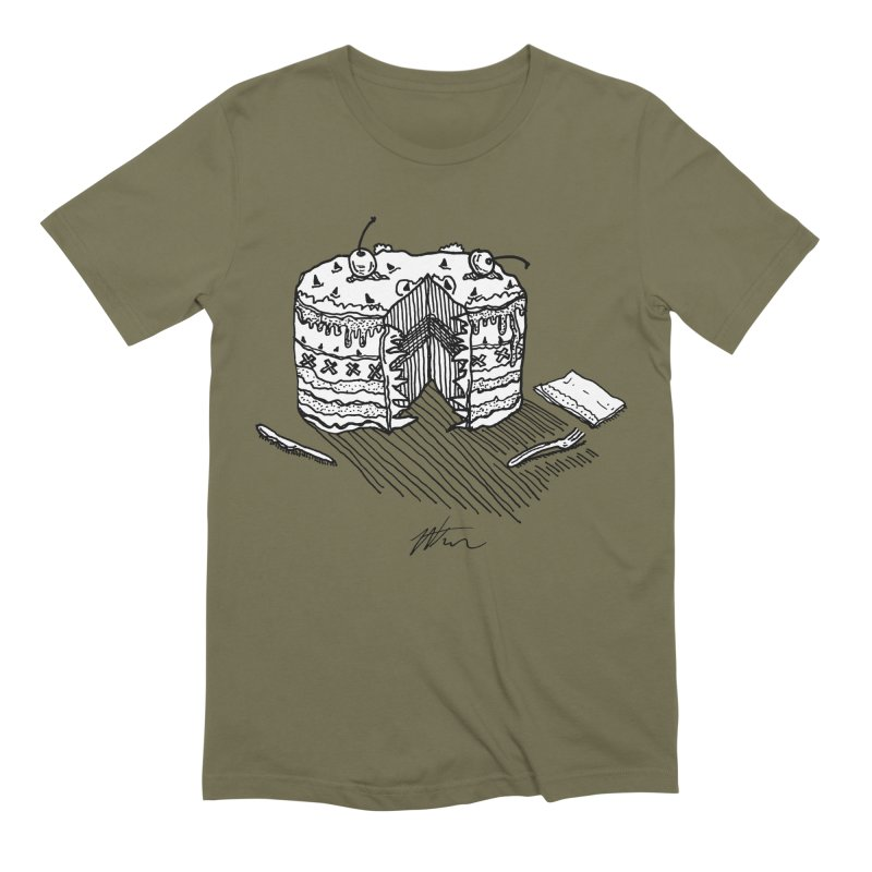 Bon Appéteeth Men's Extra Soft T-Shirt by Rorockll's Artist Shop