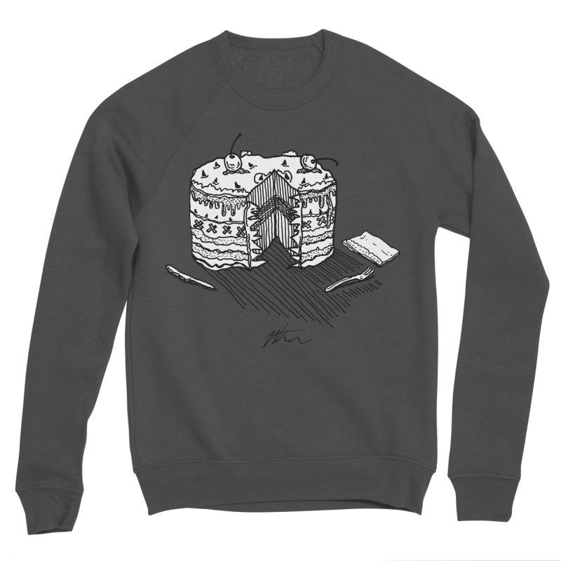 Bon Appéteeth Men's Sponge Fleece Sweatshirt by Rorockll's Artist Shop