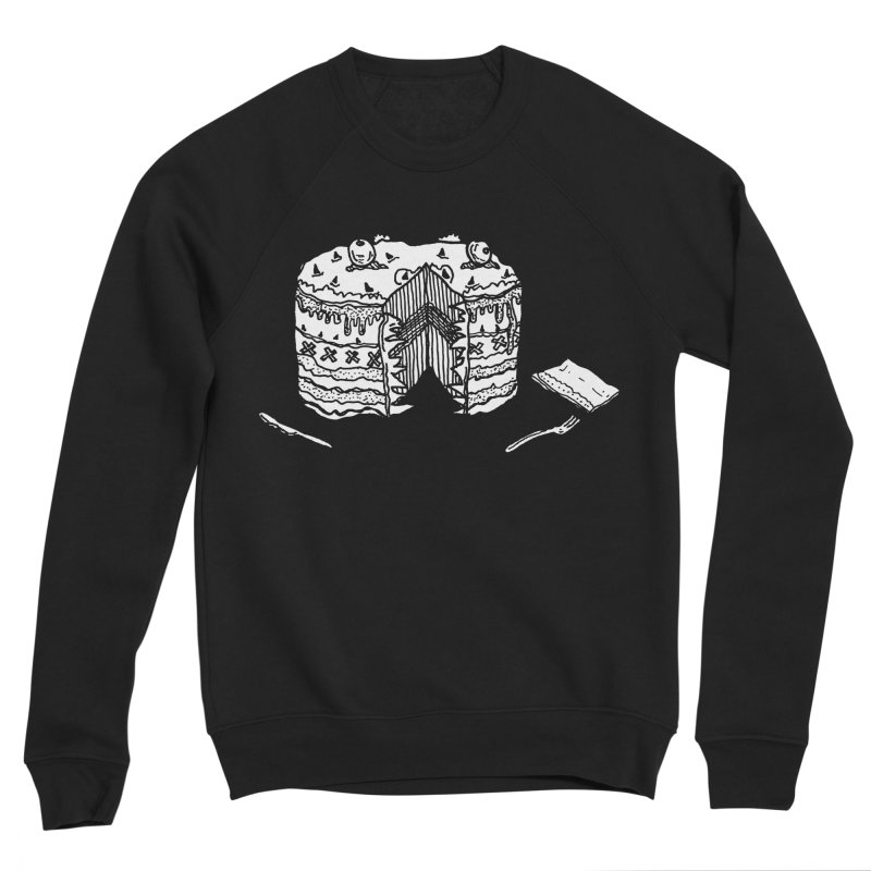Bon Appéteeth Men's Sponge Fleece Sweatshirt by Rorockll's Artist Shop