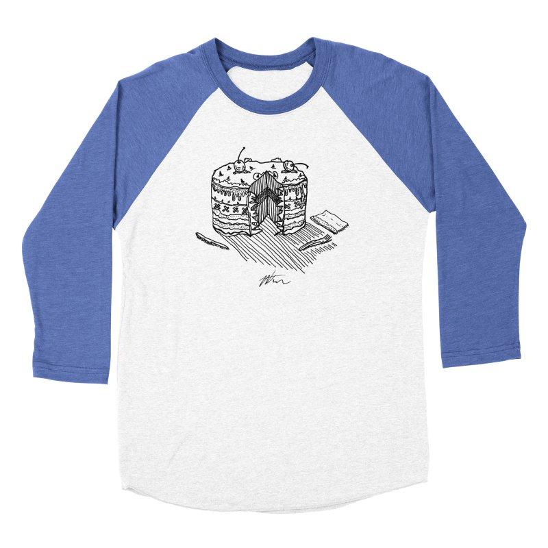 Bon Appéteeth Women's Baseball Triblend Longsleeve T-Shirt by Rorockll's Artist Shop