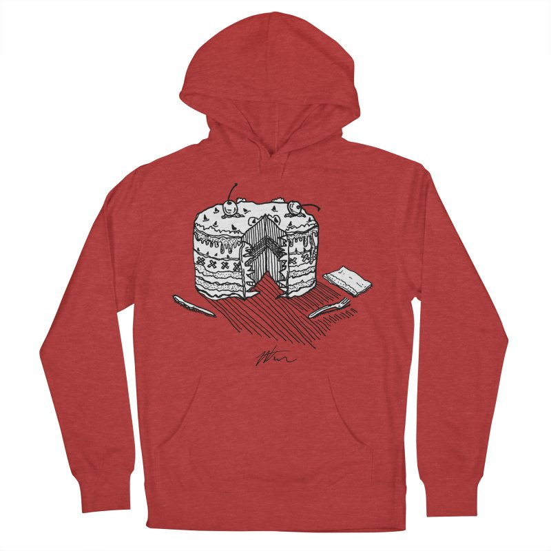 Bon Appéteeth Men's French Terry Pullover Hoody by Rorockll's Artist Shop