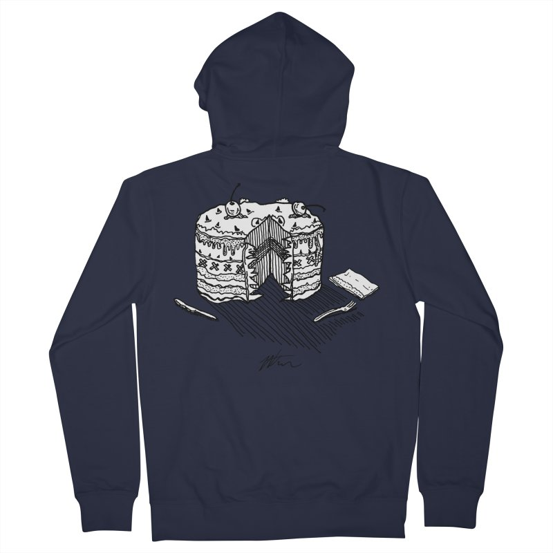 Bon Appéteeth Women's French Terry Zip-Up Hoody by Rorockll's Artist Shop