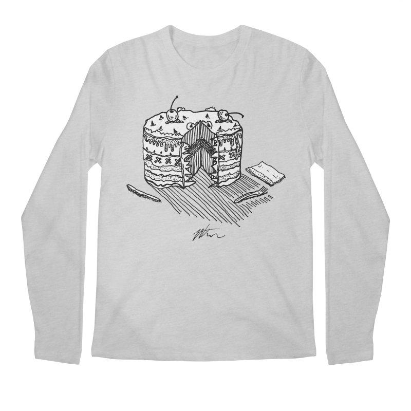 Bon Appéteeth Men's Regular Longsleeve T-Shirt by Rorockll's Artist Shop